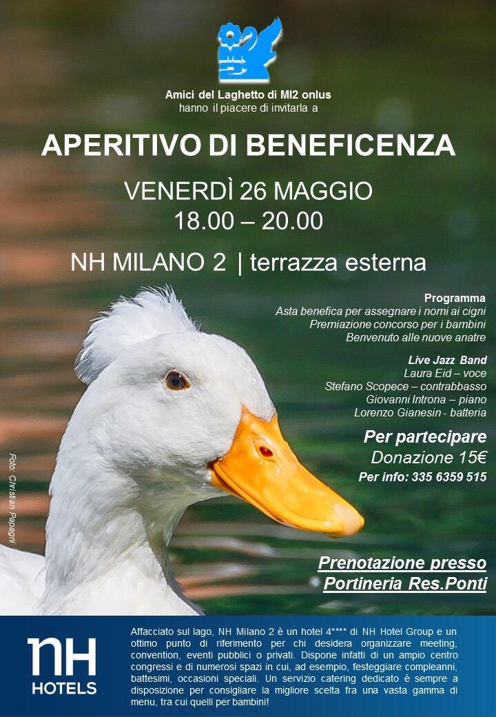 Aperitivo Benefico Laghetto Di Milano Due